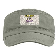 WSUROTC - A01 - 01 - Weber State University - ROTC with Text - Military Cap