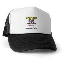 WSUROTC - A01 - 02 - Weber State University - ROTC with Text - Trucker Hat