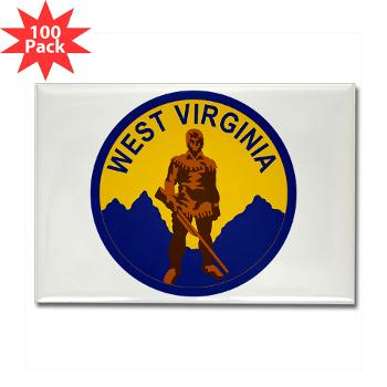 "WVU - M01 - 01 - SSI - ROTC - West Virginia University - 3.5"" Button (10 pack)"