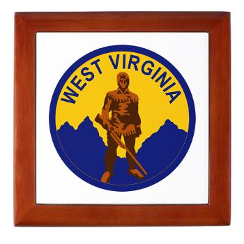 WVU - M01 - 03 - SSI - ROTC - West Virginia University - Keepsake Box