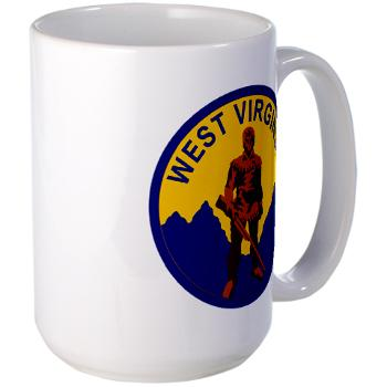 WVU - M01 - 03 - SSI - ROTC - West Virginia University - Large Mug