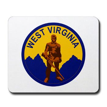 WVU - M01 - 03 - SSI - ROTC - West Virginia University - Mousepad
