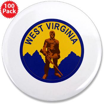 WVU - M01 - 01 - SSI - ROTC - West Virginia University - Rectangle Magnet (10 pack)