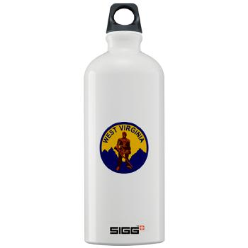 WVU - M01 - 03 - SSI - ROTC - West Virginia University - Sigg Water Bottle 1.0L