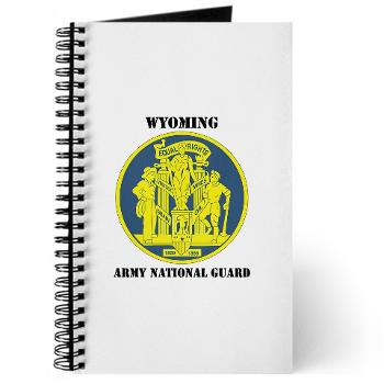 WYARNG - M01 - 02 - DUI - WYOMING Army National Guard with Text - Journal