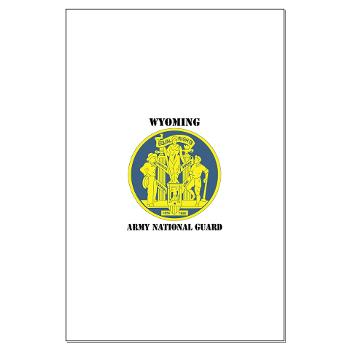 WYARNG - M01 - 02 - DUI - WYOMING Army National Guard with Text - Large Poster