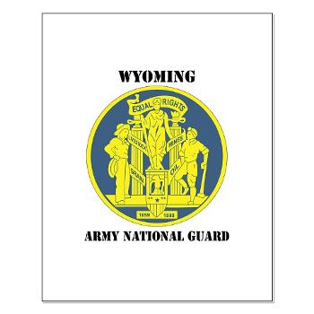 WYARNG - M01 - 02 - DUI - WYOMING Army National Guard with Text - Small Poster