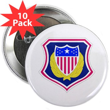 "ags - M01 - 01 - DUI - Adjutant General School 2.25"" Button (10 pack)"
