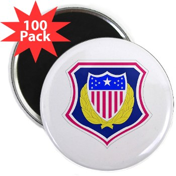 "ags - M01 - 01 - DUI - Adjutant General School 2.25"" Magnet (100 pack)"