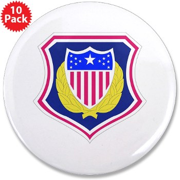 "ags - M01 - 01 - DUI - Adjutant General School 3.5"" Button (10 pack)"