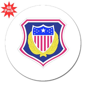 "ags - M01 - 01 - DUI - Adjutant General School 3"" Lapel Sticker (48 pk)"