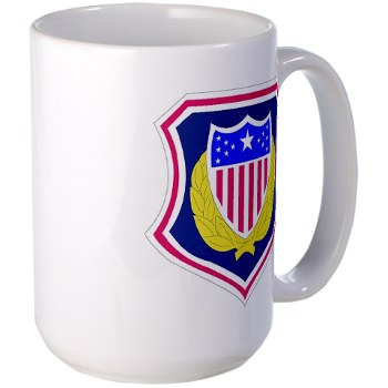 ags - M01 - 03 - DUI - Adjutant General School Large Mug