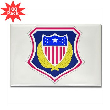 ags - M01 - 01 - DUI - Adjutant General School Rectangle Magnet (100 pk)