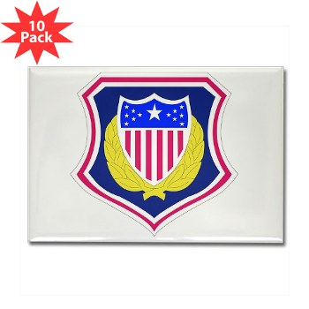 ags - M01 - 01 - DUI - Adjutant General School Rectangle Magnet (10 pk)