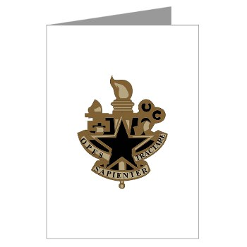 almc - M01 - 02 - DUI - Army Logistics Management College - Greeting Cards (Pk of 10)
