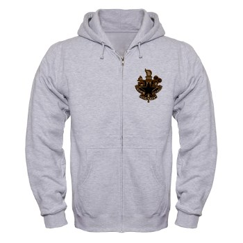 almc - A01 - 03 - DUI - Army Logistics Management College - Zip Hoodie