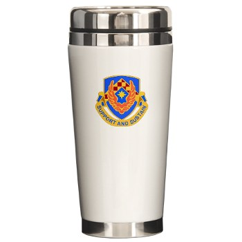 als - M01 - 03 - DUI - Aviation Logistics School - Ceramic Travel Mug