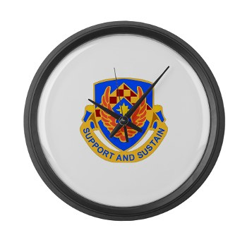 als - M01 - 03 - DUI - Aviation Logistics School - Large Wall Clock
