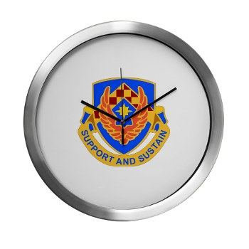 als - M01 - 03 - DUI - Aviation Logistics School - Modern Wall Clock