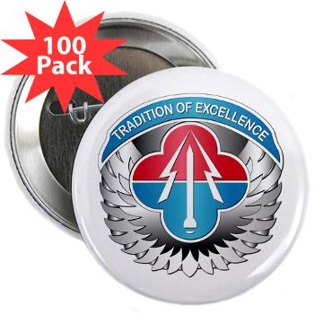 "AMLCMC - M01 - 01 - Aviation and Missile Life Cycle Management Command - 2.25"" Button (100 pack)"