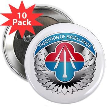 "AMLCMC - M01 - 01 - Aviation and Missile Life Cycle Management Command - 2.25"" Button (10 pack)"