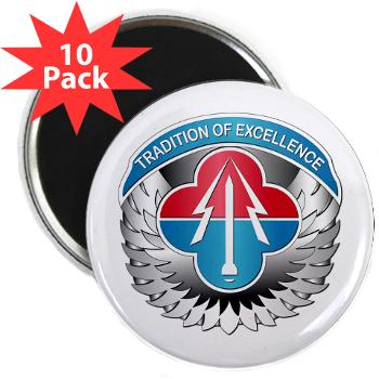 "AMLCMC - M01 - 01 - Aviation and Missile Life Cycle Management Command - 2.25"" Magnet (10 pack)"
