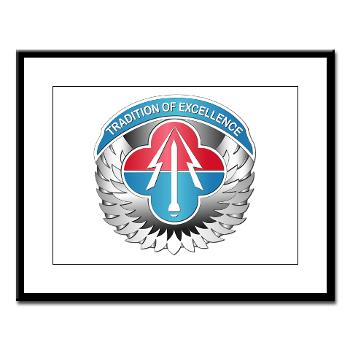 AMLCMC - M01 - 02 - Aviation and Missile Life Cycle Management Command - Large Framed Print