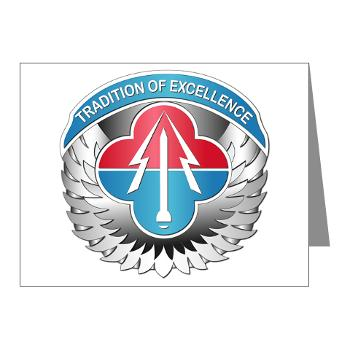 AMLCMC - M01 - 02 - Aviation and Missile Life Cycle Management Command - Note Cards (Pk of 20)