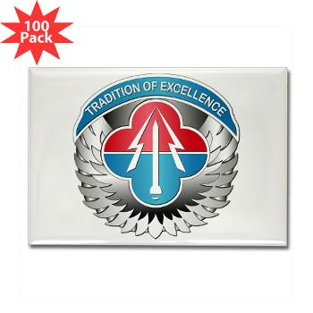 AMLCMC - M01 - 01 - Aviation and Missile Life Cycle Management Command - Rectangle Magnet (100 pack)