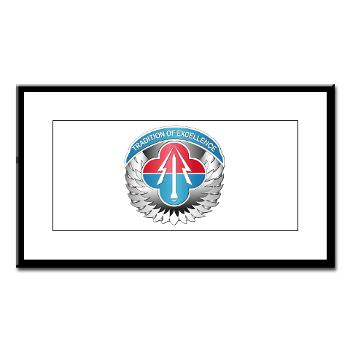 AMLCMC - M01 - 02 - Aviation and Missile Life Cycle Management Command - Small Framed Print