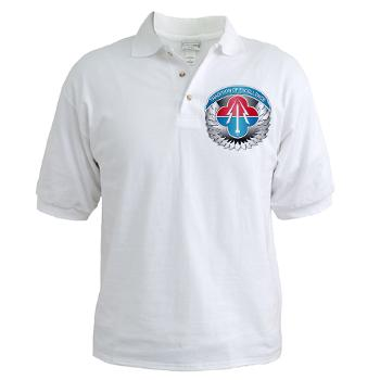 AMLCMC - A01 - 04 - Aviation and Missile Life Cycle Management Command - Golf Shirt