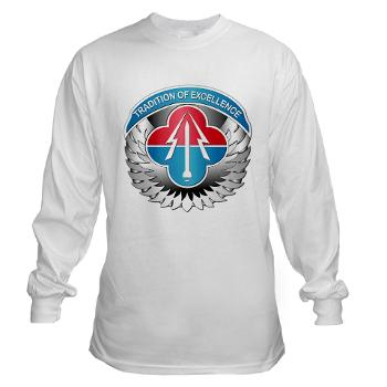 AMLCMC - A01 - 04 - Aviation and Missile Life Cycle Management Command - Long Sleeve T-Shirt