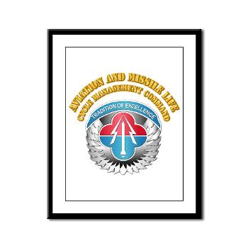 AMLCMC - M01 - 02 - Aviation and Missile Life Cycle Management Command - Framed Panel Print