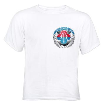 AMLCMC - A01 - 04 - Aviation and Missile Life Cycle Management Command - White t-Shirt