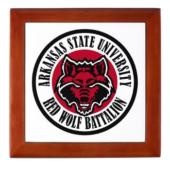arksun - M01 - 03 - SSI - ROTC - Arkansas State University - Keepsake Box