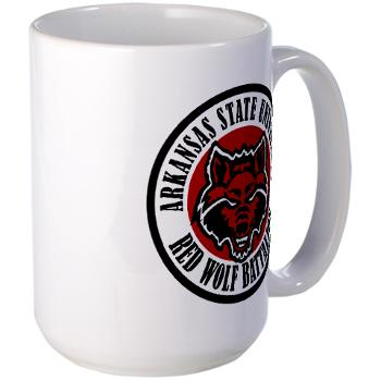 arksun - M01 - 03 - SSI - ROTC - Arkansas State University - Large Mug