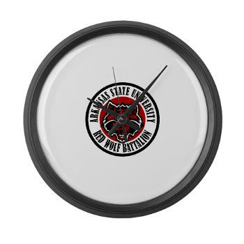 arksun - M01 - 03 - SSI - ROTC - Arkansas State University - Large Wall Clock