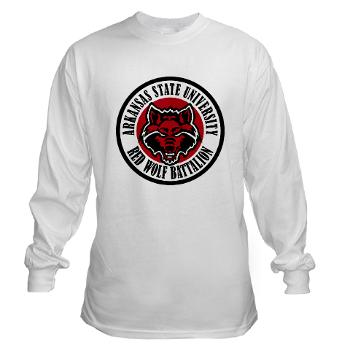 arksun - A01 - 03 - SSI - ROTC - Arkansas State University - Long Sleeve T-Shirt