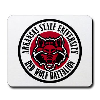 arksun - M01 - 03 - SSI - ROTC - Arkansas State University - Mousepad