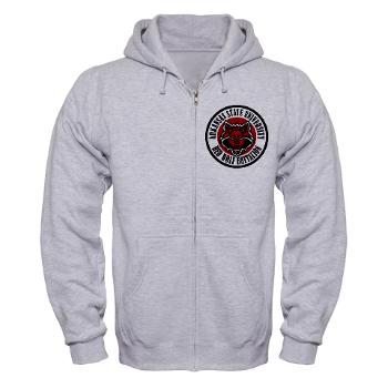 arksun - A01 - 03 - SSI - ROTC - Arkansas State University - Zip Hoodie