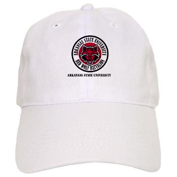 arksun - A01 - 01 - SSI - ROTC - Arkansas State University with Text - Cap