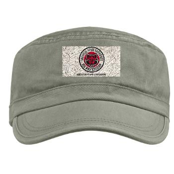arksun - A01 - 01 - SSI - ROTC - Arkansas State University with Text - Military Cap