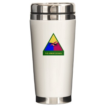 armorschool - M01 - 03 - DUI - Armor Center/School Ceramic Travel Mug