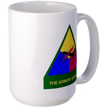 armorschool - M01 - 03 - DUI - Armor Center/School Large Mug