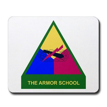 armorschool - M01 - 03 - DUI - Armor Center/School Mousepad