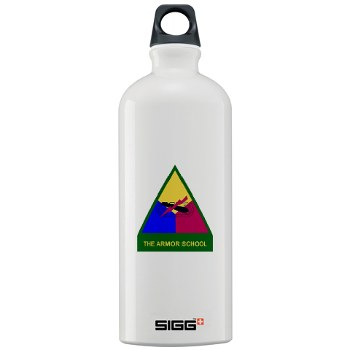 armorschool - M01 - 03 - DUI - Armor Center/School Sigg Water Bottle 1.0L