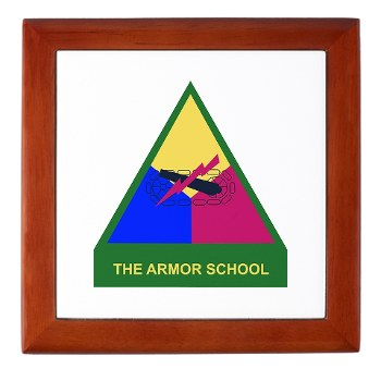armorschool - M01 - 03 - DUI - Armor Center/School Keepsake Box