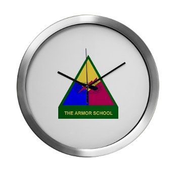 armorschool - M01 - 03 - DUI - Armor Center/School Modern Wall Clock