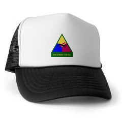armorschool - A01 - 02 - DUI - Armor Center/School with Text Trucker Hat