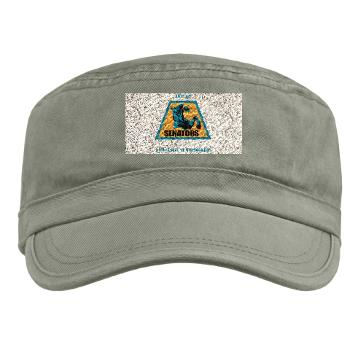 aum - A01 - 01 - SSI - ROTC - Aum with Text - Military Cap